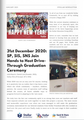 SEG Newsletter 2021 Vol 1