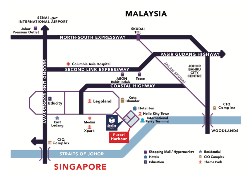 Stellar International School Map